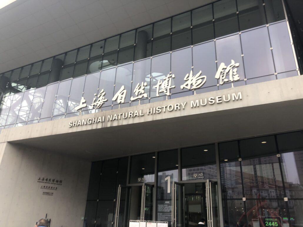 小门面,大世界 ,走马观花上海自然博物馆