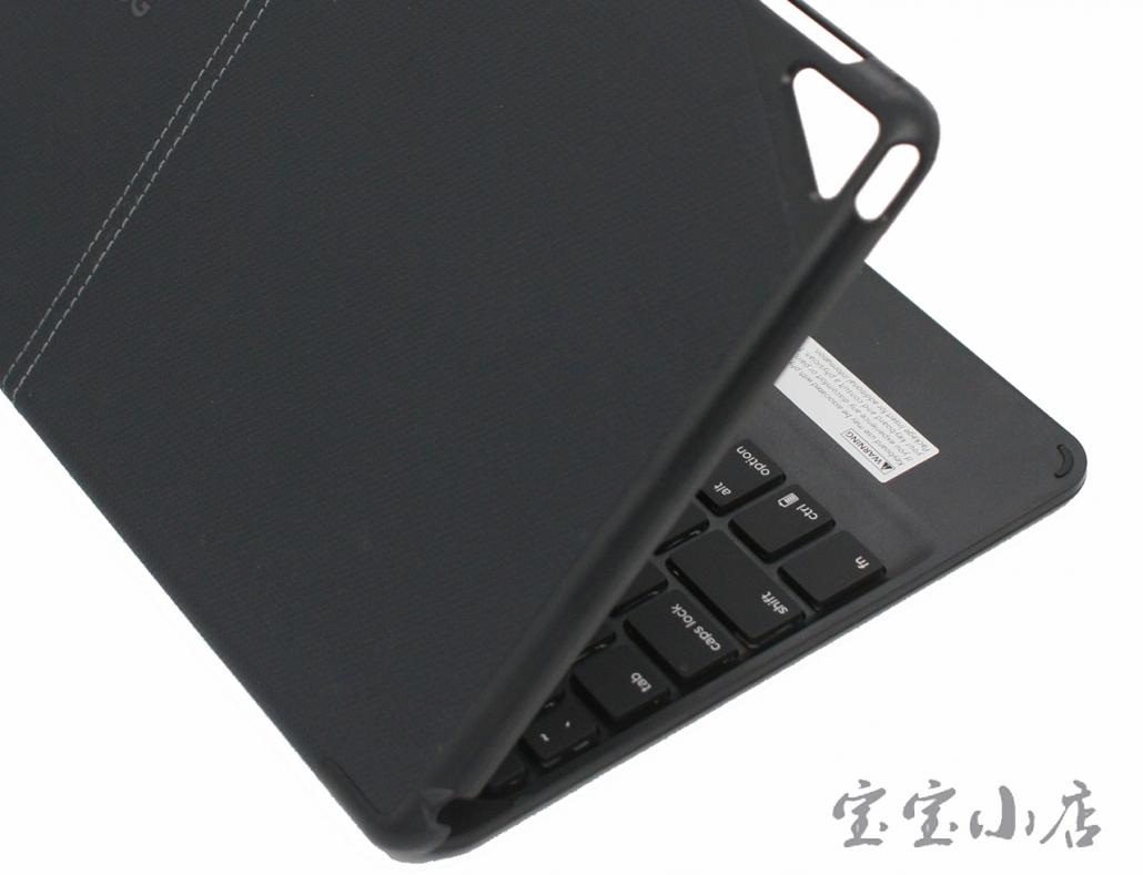 苹果Ipad Pro air2 9.7 蓝牙无线键盘 折叠便携平板七彩背光 ZAGG