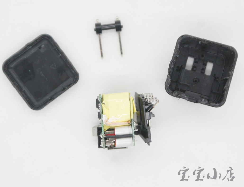 雷蛇5V 2.5A KS047844手机USB充电器 可到5V3A 移动电源充电头USB-C 充电器type-c数据线