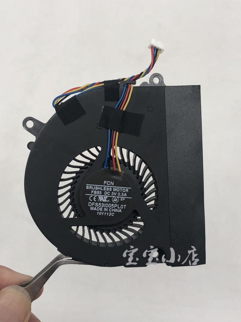 神舟Hasee K480 K480P K480N i3G i5G B9 B96 i5 i7 D1 D2 D3 D4 D5 散热模组 风扇A480N Haier T6A 散热器13N0-XTA0101 铜管