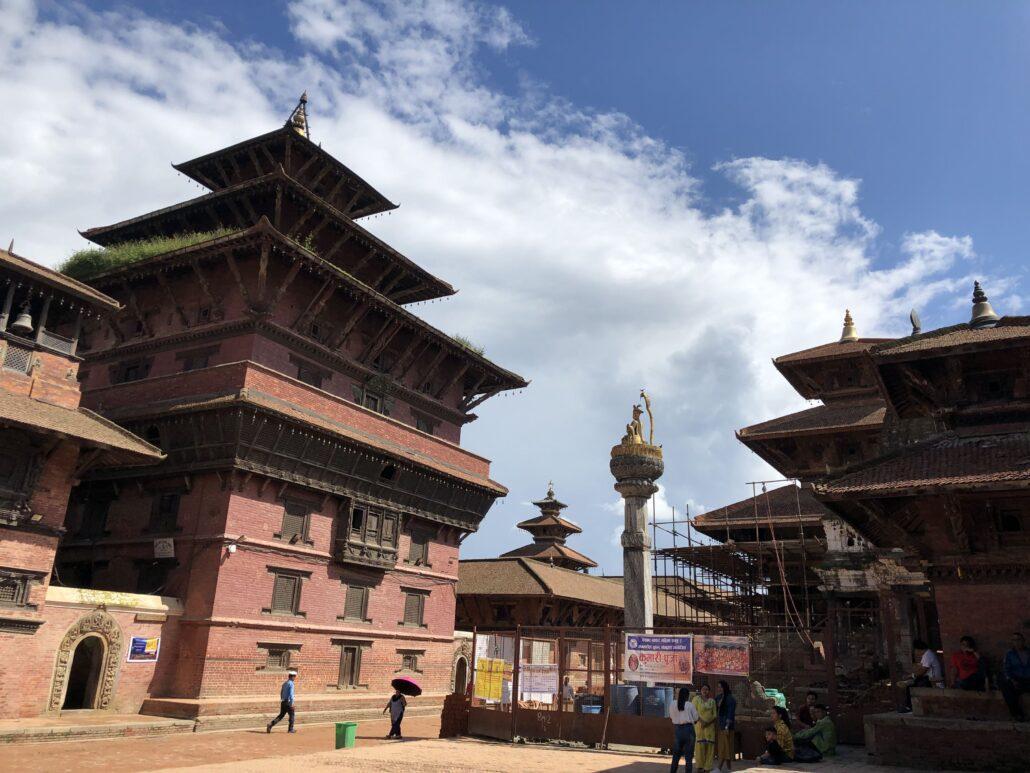 尼泊尔自由行 第一天 加德满都 帕坦