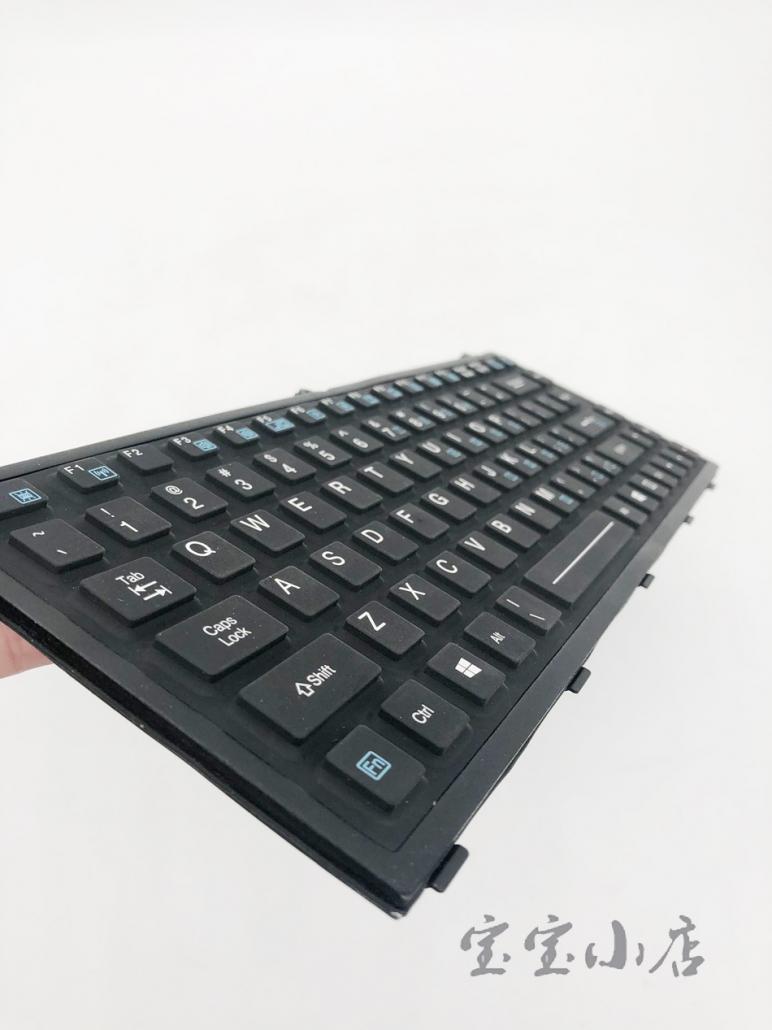 CNJS E308724 神基Getac X500 s410 b300 笔记本内置键盘 带背光三防键盘