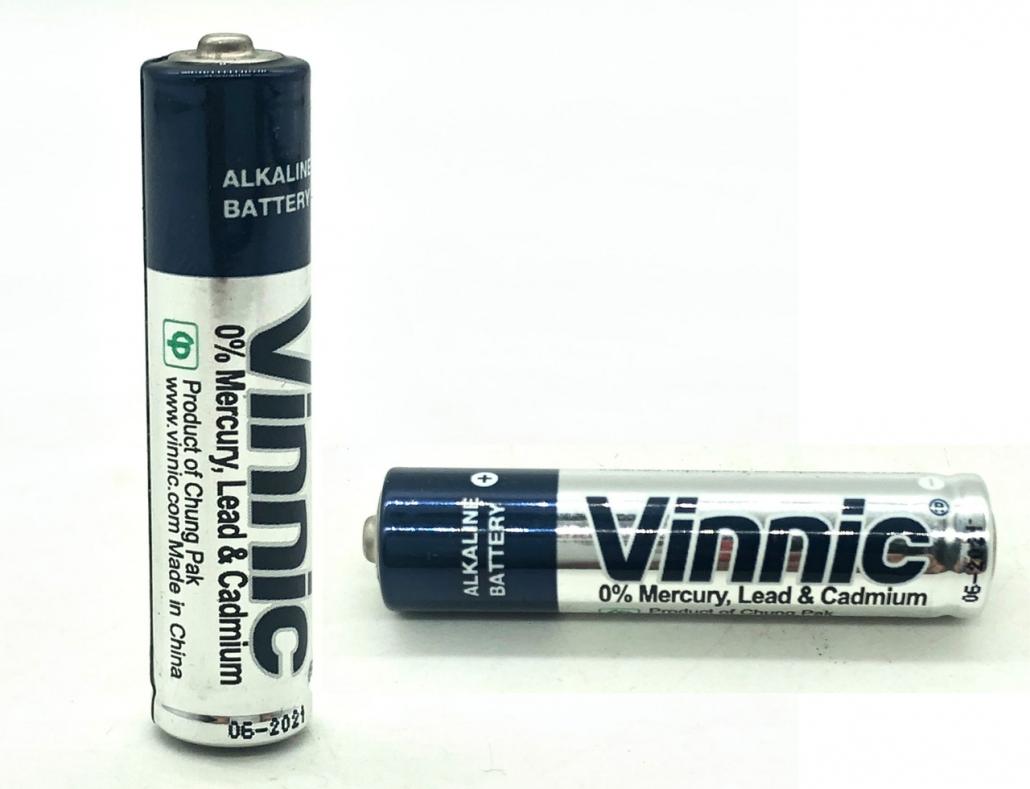 新到货1080节Vinnic 7号干电池混合套装碱性遥控鼠标闹钟玩具