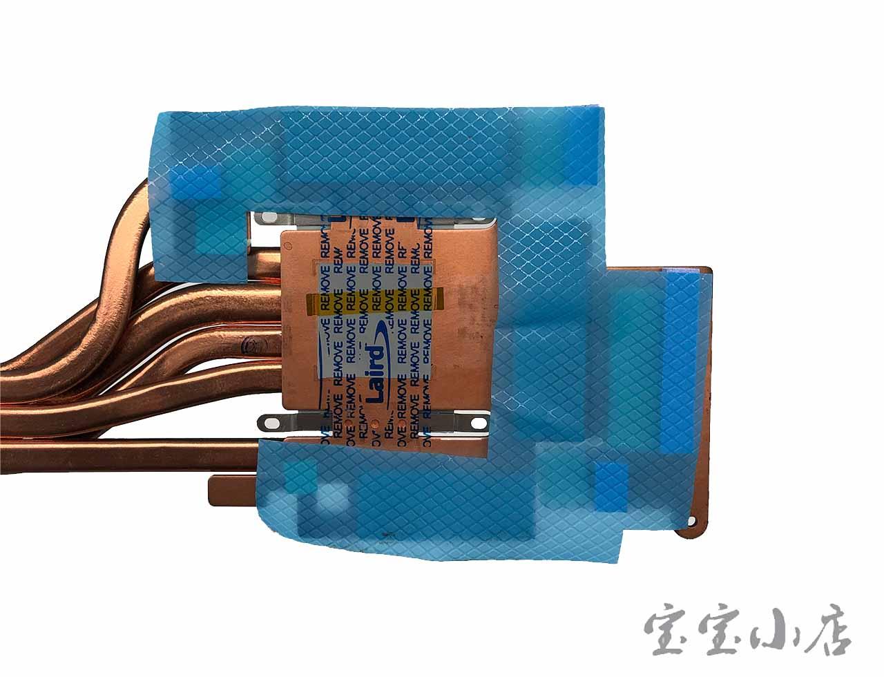 蓝天CLEVO P870x DM2 DM3 KM TM-G 散热模组 铜管 6-31-P872N-401 CPU Cooling Heatsink VGA Heatsink Module for CLEVO N17E-G3